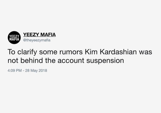 Yeezy Mafia Returns To Twitter, Clears Air About Suspension And Kim Kardashian