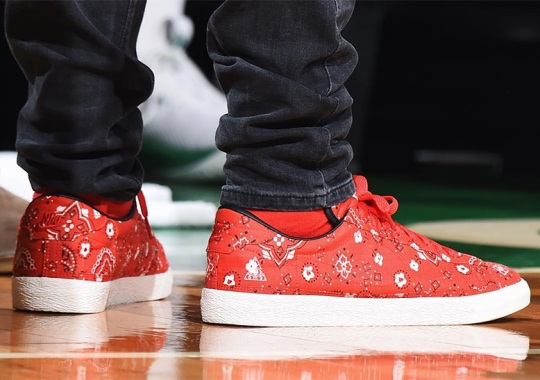 Kyrie Irving Wears Bandana-Inspired Nike Tennis Classic