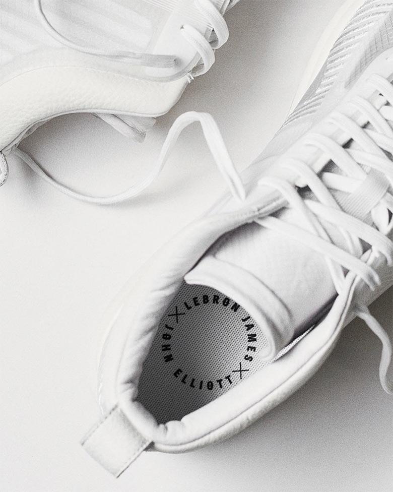 on sale 81304 45d56 John Elliott LeBron James White Nike Sneaker   SneakerNews.com