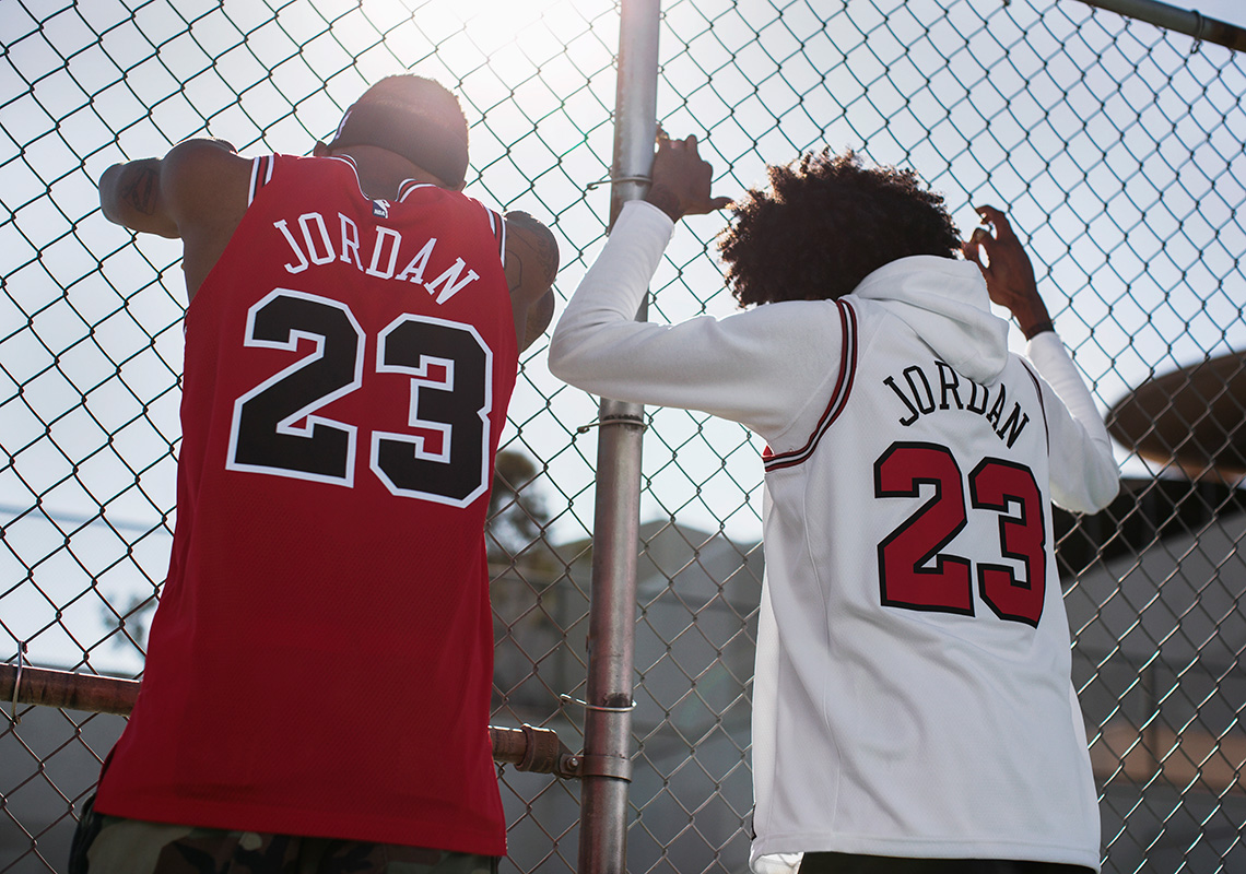 "Nike Authentic And Swingman Michael Jordan Jerseys Celebrates The ""Last  Shot"" 6cffd431e"
