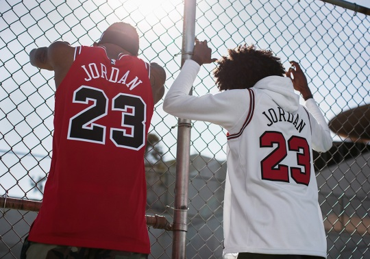 "Nike Authentic And Swingman Michael Jordan Jerseys Celebrates The ""Last Shot"""