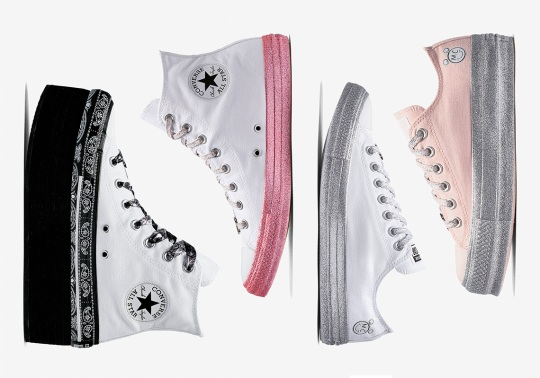 Miley Cyrus' Converse Chuck Taylor Collaboration Is Coming Soon