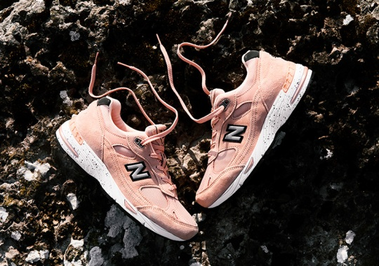 """Naked And New Balance Deliver A """"Peach Parfait"""" 991 Collaboration"""