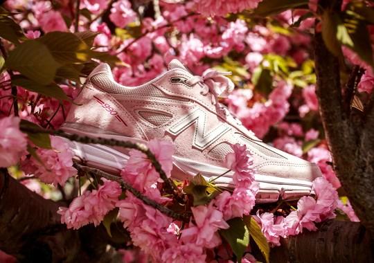 """New Balance 990v4 Goes """"Rose Pink"""" For The Susan G. Komen Foundation"""