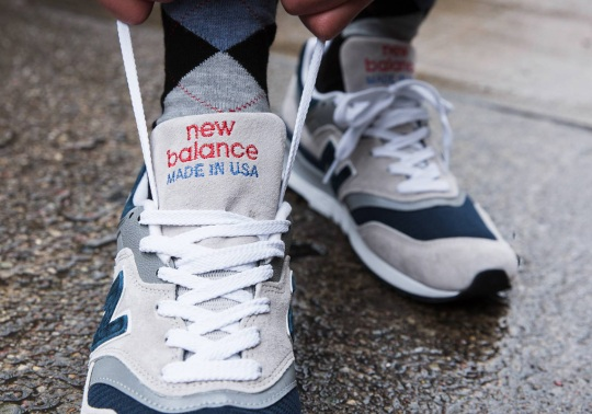 The New Balance 997 Made In USA In An Unmistakeable Colorway