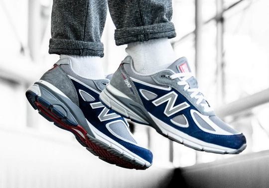 New Balance And Villa's 990v4 Is Ready For Memorial Day Weekend