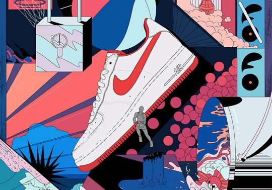 "The Nike Air Force 1 Low ""Fo Fi Fo"" Is Inspired By Moses Malone's Playoff Prediction"