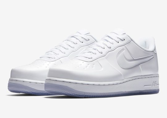 f65d8f73d3702 Triple White Dawns On The Nike Air Force 1 Foamposite