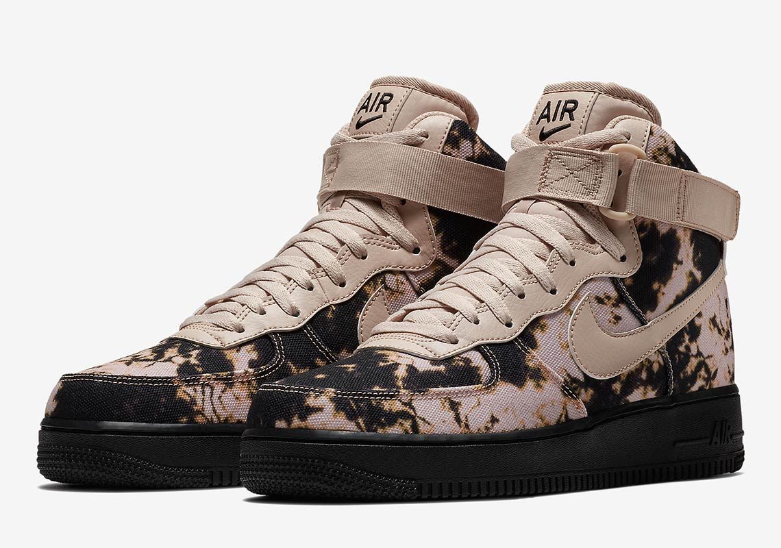 the best attitude 3f417 8a27e Nike Air Force 1 High  110. Available now at Footaction Color   Black Particle Beige-Particle Beige-Acid Wash Print