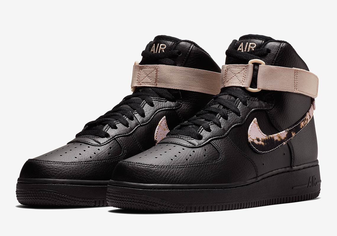 new styles cc398 906aa Nike Air Force 1 High Acid Wash Pack Release Info  SneakerNe