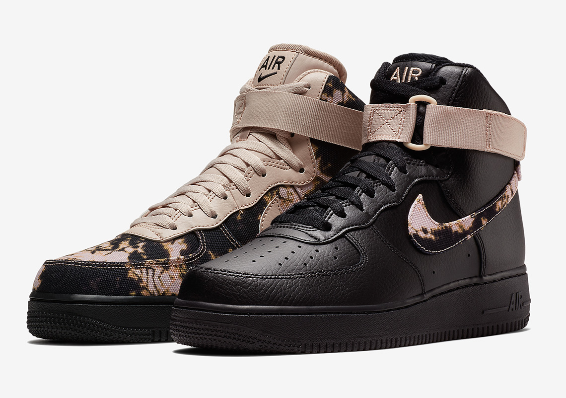 low priced 9367d ac6aa Nike Is Releasing A Set Of Acid-Washed Air Force 1 Highs