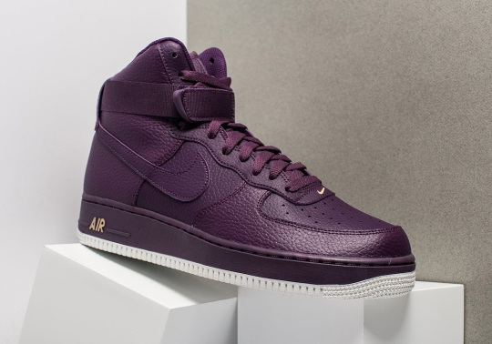"""Nike Air Force 1 High """"Night Purple"""" Is Available Now"""