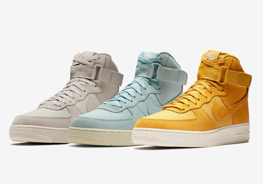 More Suede Options For The Nike Air Force 1 High Are Here