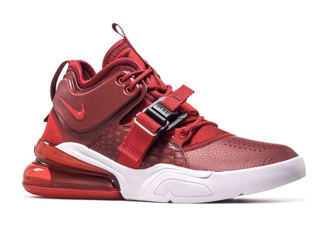 ed653855bc70 Nike Adds Red Croc Prints On The Air Force 270