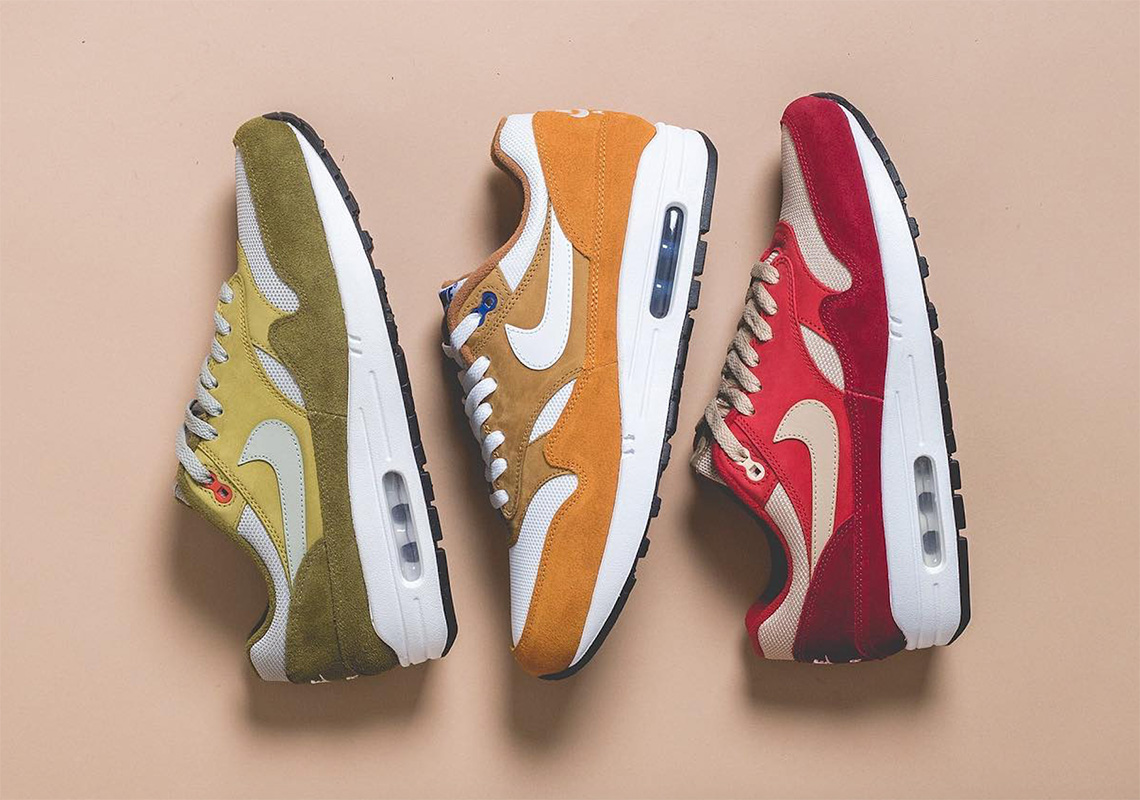 "Detailed Look At The Nike Air Max 1 ""Curry"" Pack 4de8ae013e"