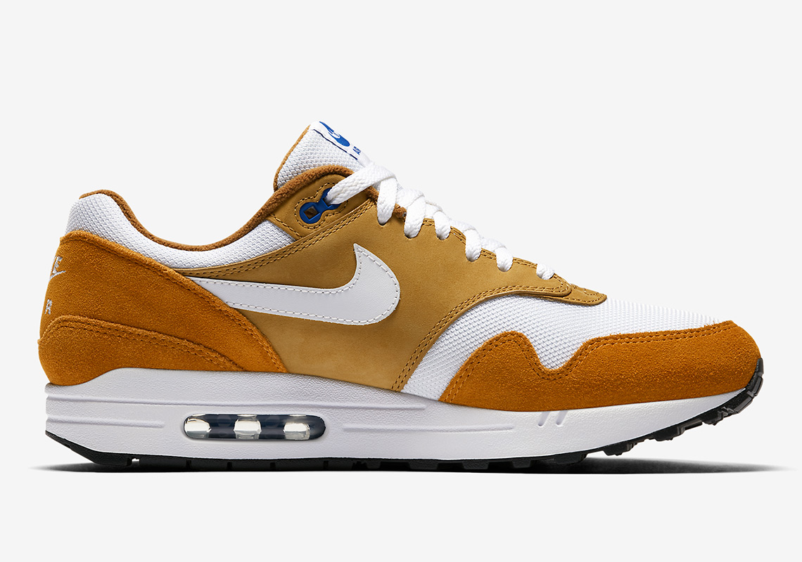hot sale online 2978c 9b29c Nike Air Max 1. Release Date: May 12, 2018 $150. Color: Tough Red/Rush  Red/Pale Vanilla-Mushroom Style Code: 908366-600