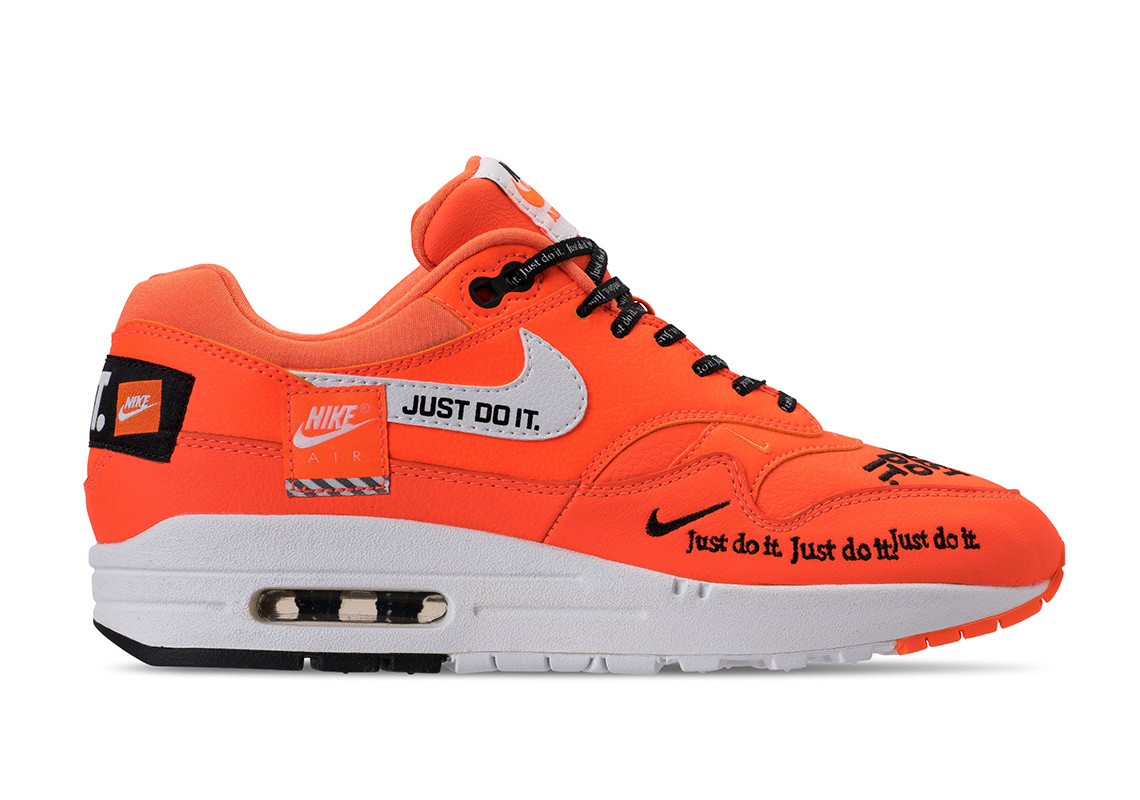 "0bdf0118fc While you wait, be sure to check out our Sneaker Release Dates page to stay  up-to-date on all Nike shoes. Advertisement. Nike Air Max 1 ""Just Do It"""