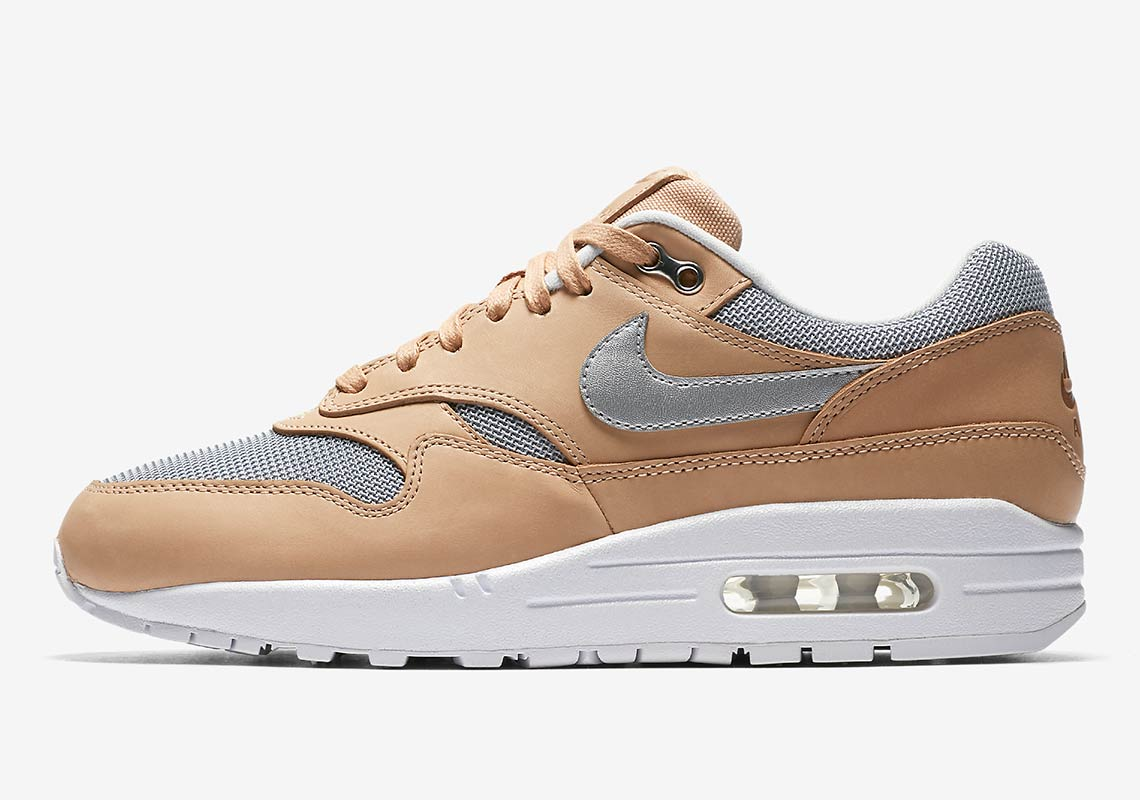 best loved 8495d 8ab7d ... store nike air max 1 wmns 130. color vachetta tan metallic silver white  ee556 22748