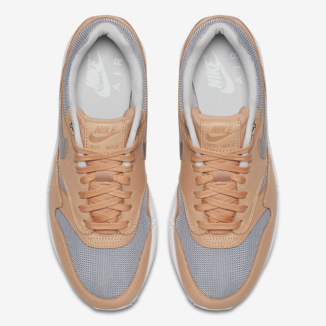 official photos 90f70 03689 Nike Air Max 1 Wmns  130. Color  Vachetta Tan Metallic Silver-White Style  Code  AO0795-200. Advertisement. Advertisement