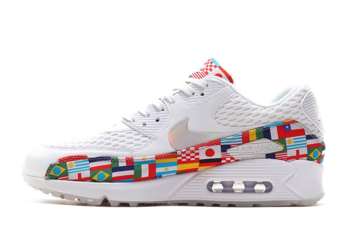 new arrival 33e8c 967c7 Nike Air Max 90 EM Release Date June 14, 2018. Color WhiteMulti-Color