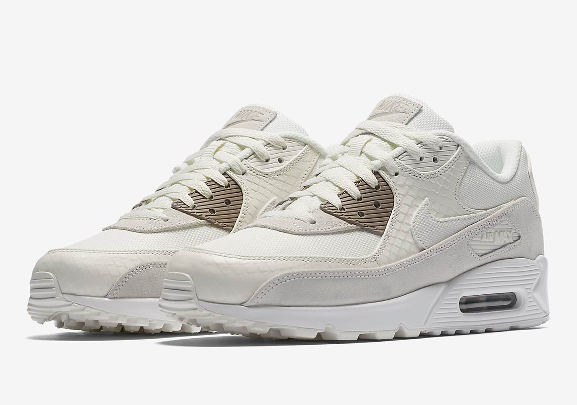 info for ae45c a5790 Both colorways of this premium snakeskin Air Max 90 are available at Nike.com  for  130 USD now. Looking for even more Air Max news
