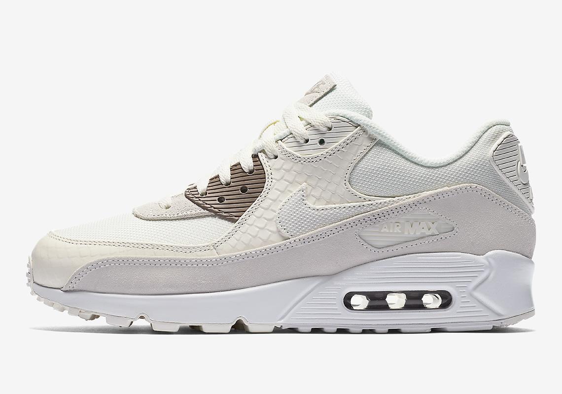 Całkiem nowy specjalne do butów na sprzedaż online Nike Air Max 90 Premium Snakeskin Available Now ...