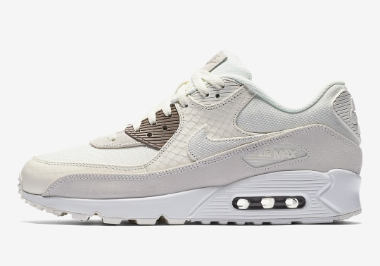 The Nike Air Max 90 Premium Offers Two Snakeskin Colorways