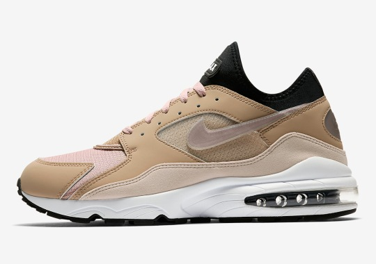 "The Nike Air Max 93 Is Set To Arrive In ""Sepia Stone"""