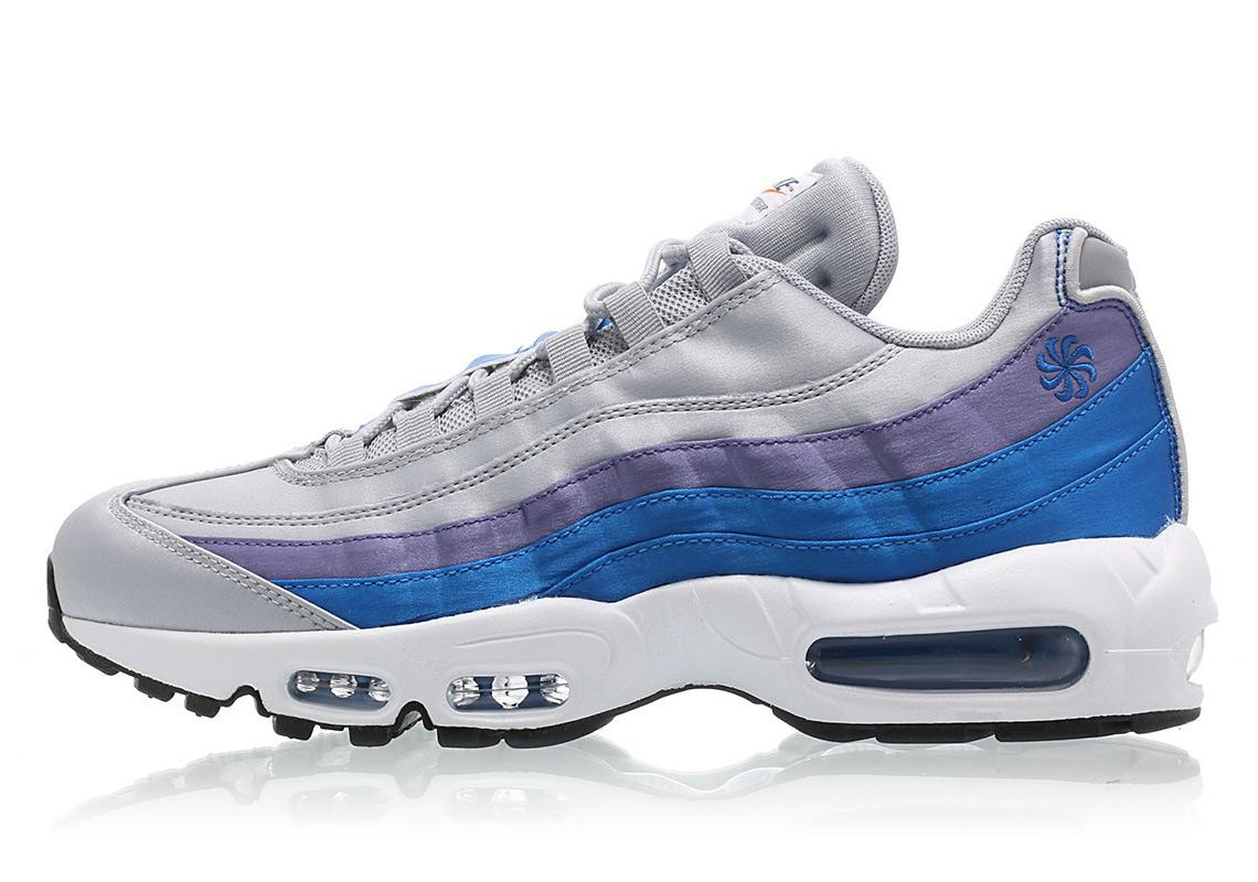 the best attitude e2a72 87104 Nike Air Max 95 SE 160. Color Wolf GreyBlue Nebula-Purple Slate-White  Style Code AJ2018-001