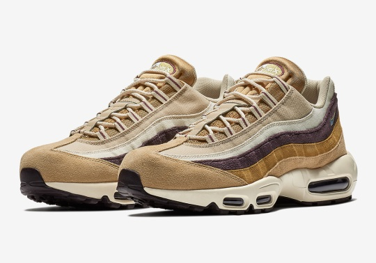 "The Nike Air Max 95 Explores The Outdoors With ""Desert"""
