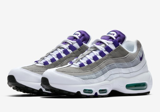 "The Nike Air Max 95 ""Grape"" Just Released"