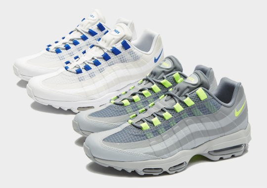 Nike's Summer-Ready Air Max 95 Ultra SE Arrives In Two New Colorways