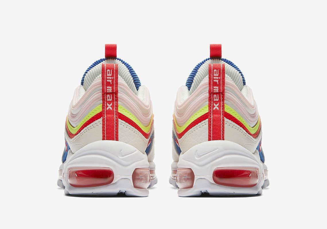 "Buy Nike Air Max 97 SE ""Corduroy"" SailVolt GlowArctic Pink AQ4137 101"