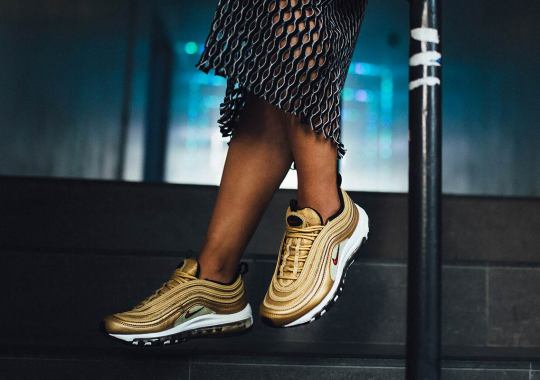 Nike's Metallic Gold To Appear On Three Air Max Models Next Week