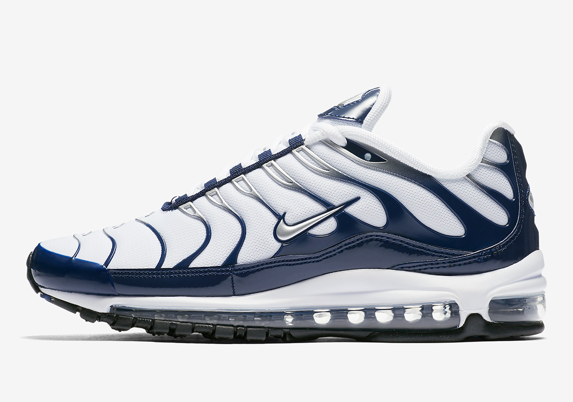 af1076b272d06 Nike Air Max 97 Plus AH8144-100 | SneakerNews.com