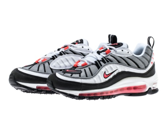 "Nike Air Max 98 ""Solar Red"" Arrives Later This Month"