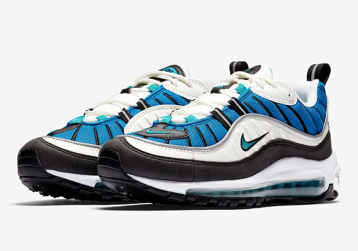 0caf1fdcad19a4 ... best price blue nebula air max 98s for the ladies are coming soon 8c14f  7c8b3