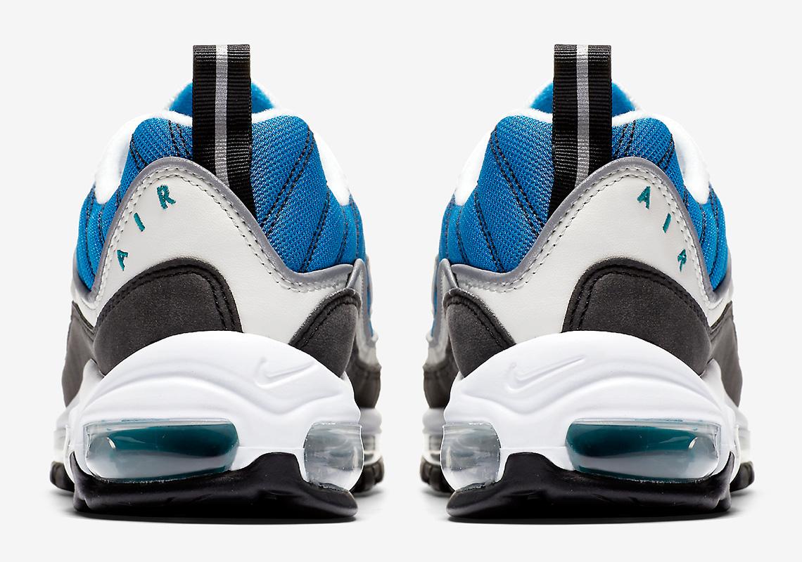 air max 98 bleu orage