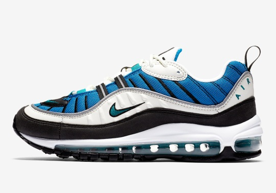 "Where To Buy: Nike Air Max 98 ""Radiant Emerald"""