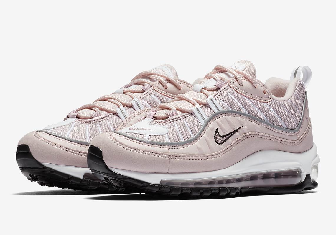 2d15af90da Nike Air Max 98. Release Date: May 10, 2018 $160. Color: Barely Rose/Elemental  Rose-Particle Rose