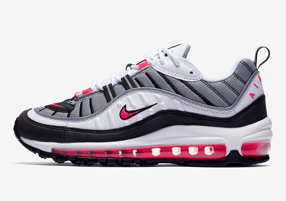 where to buy nike air max 98 solar red ah6799 104. Black Bedroom Furniture Sets. Home Design Ideas