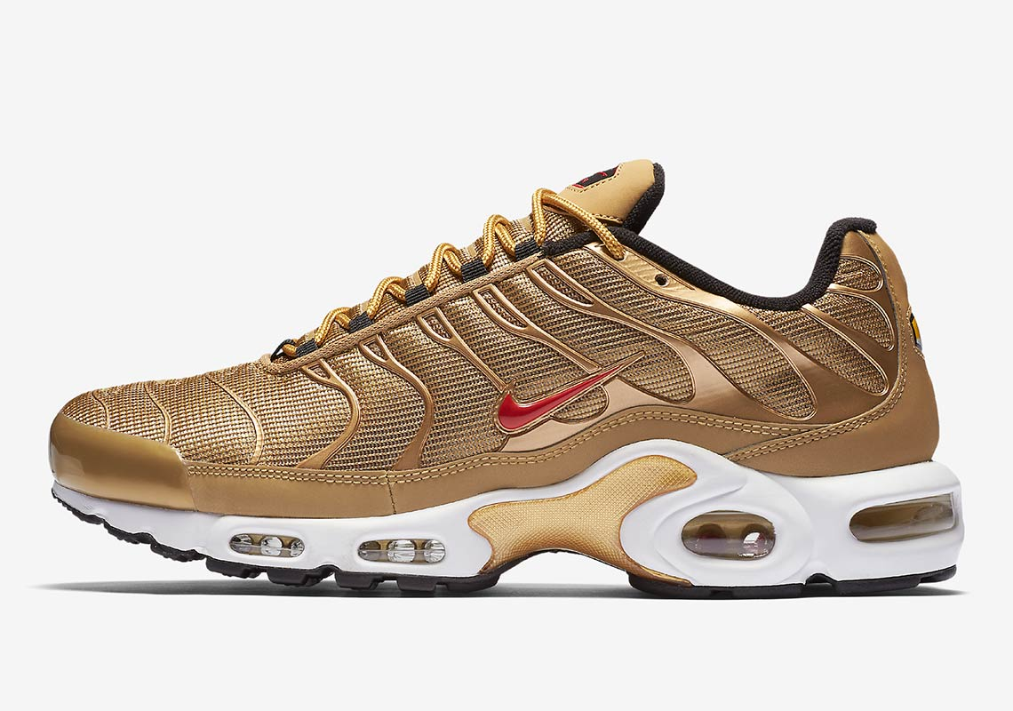 8caf2b1f21 Nike Air Max 97 Wmns Release Date: May 17, 2018 $160. Color: Metallic Gold/Varsity  Red-White-Black