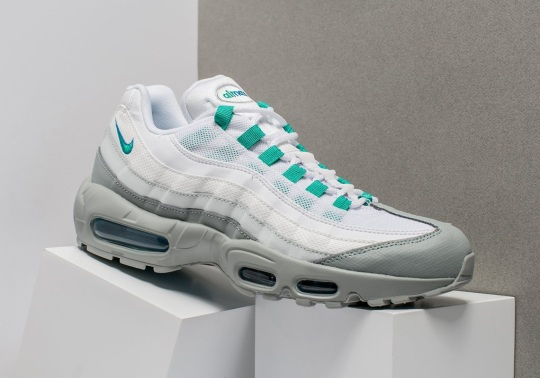 """Nike Air Max 95 """"Clear Emerald"""" Is Available Now"""