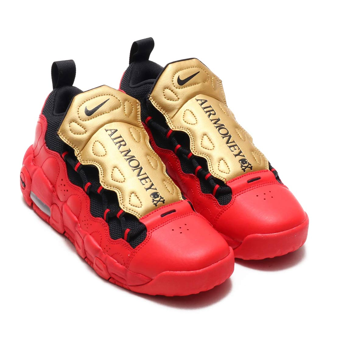 806af54208d Nike Air More Money GS Gold Red AH5215-600