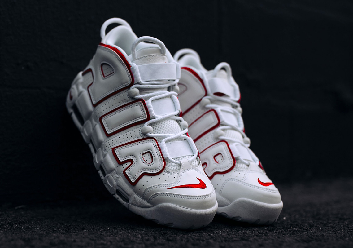 ... hot sale online c3ac0 b6192 Nike Air More Uptempo Release Date May  24th 969a9ae7c