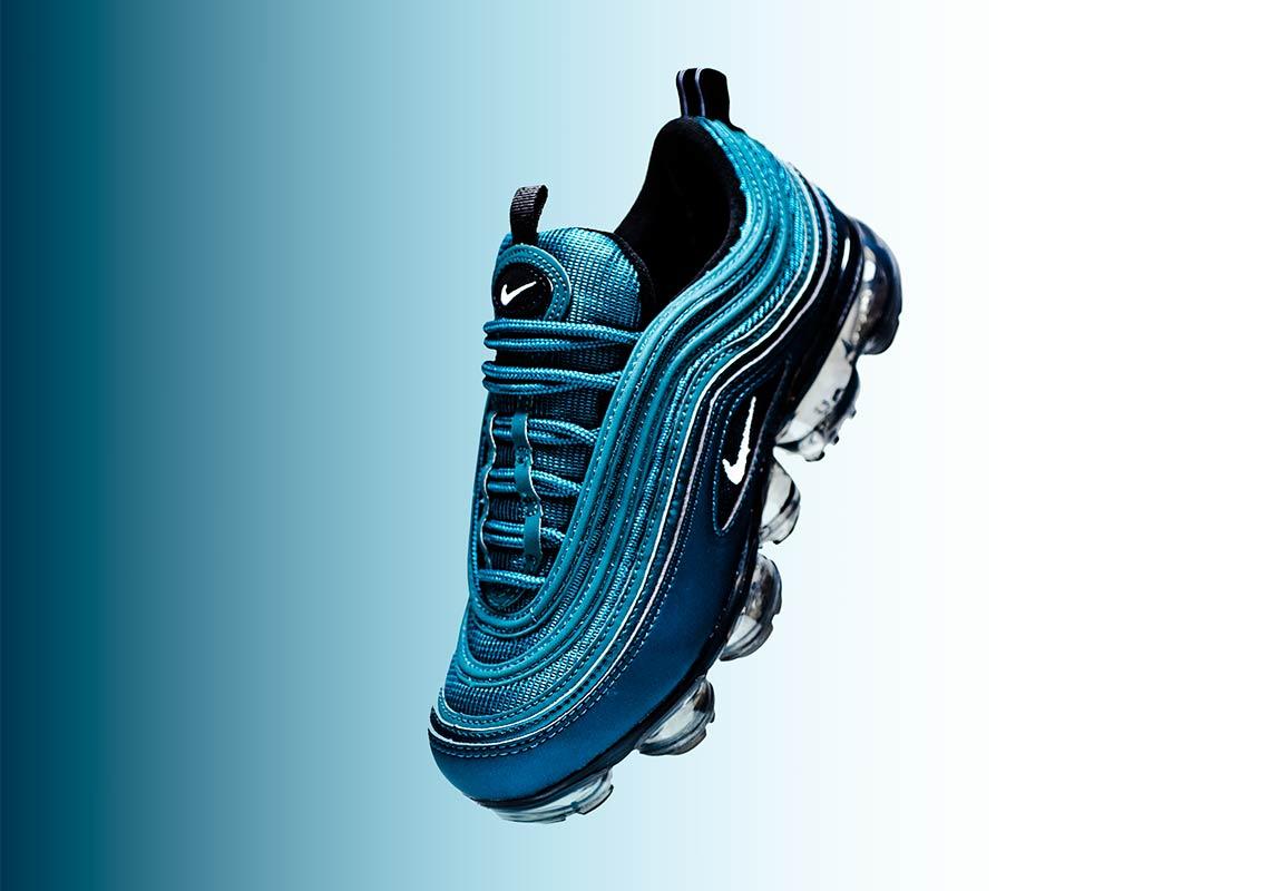 d9c6f7ddd7 Nike VaporMax 97 Wmns $190. Color: Metallic Dark Sea/White-Black Style  Code: AO4542-901. Advertisement