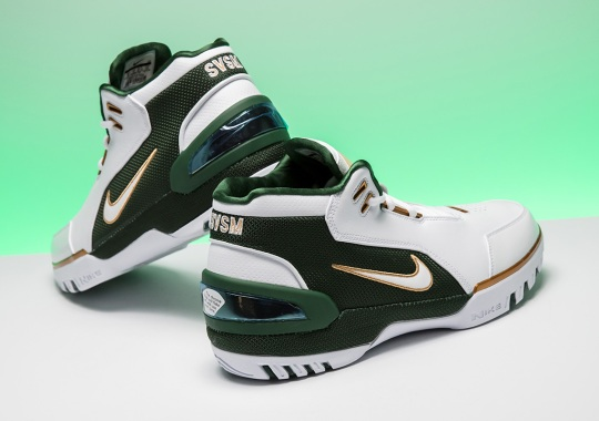 "Detailed Look At The Nike Air Zoom Generation ""SVSM"" Retro"