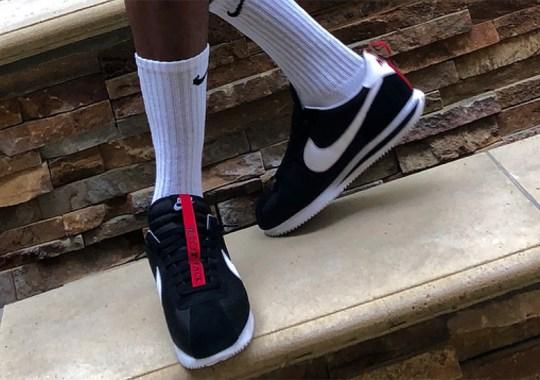 New Black Colorway Of The Kendrick Lamar x Nike Cortez Kenny 1 Revealed