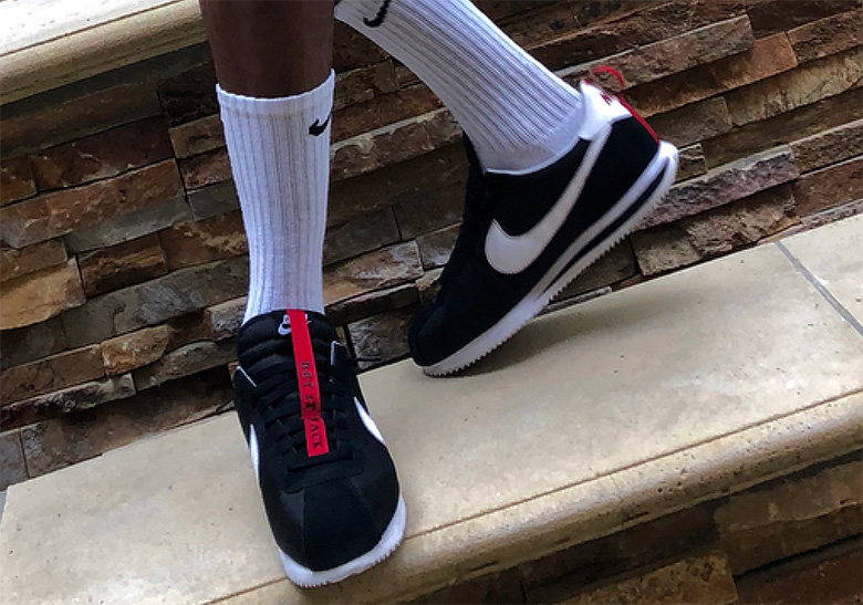low cost acde9 a7f18 New Black Colorway Of The Kendrick Lamar x Nike Cortez Kenny 1 Revealed