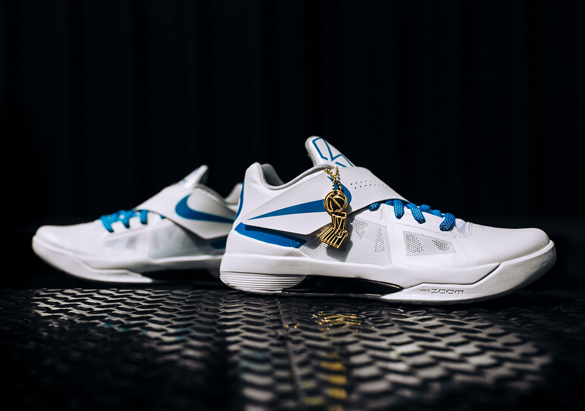 0003825c5291 Kevin Durant s Nike KD 4 PE From The 2012 NBA Finals Is Coming Back